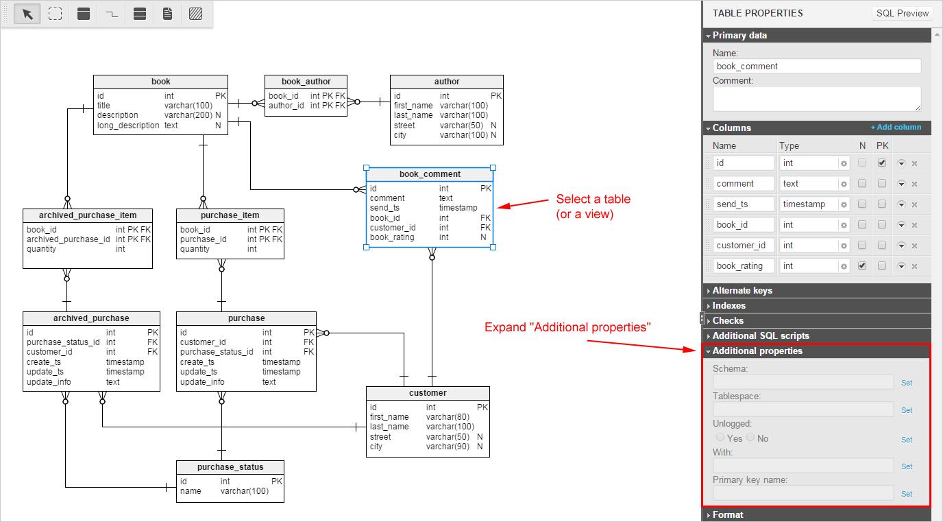 How to use schemas in PostgreSQL / Vertabelo Forum / Vertabelo